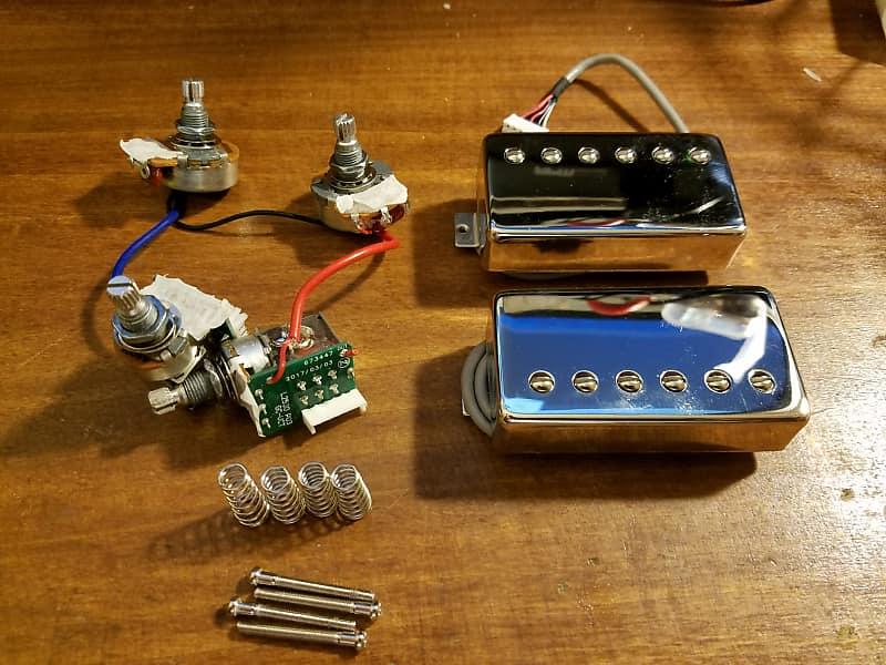 Awe Inspiring Epiphone Probucker Pickups Wiring Harness Reverb Wiring Digital Resources Inklcompassionincorg