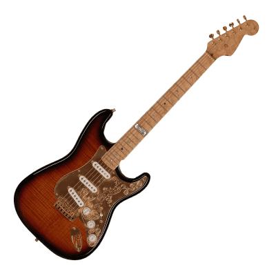 Fender Diamond Dealer Custom Shop Limited Edition 40th Anniversary Stratocaster Flamed 2-Color Sunburst with Gold Hardware 1994