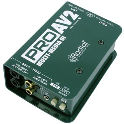 Radial Engineering ProAV2 Passive stereo multimedia DI