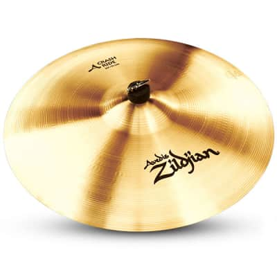 """Zildjian 20"""" A Series Crash Ride Cast Bronze Cymbal with Large Bell Size & Low to Mid Pitch A0024"""