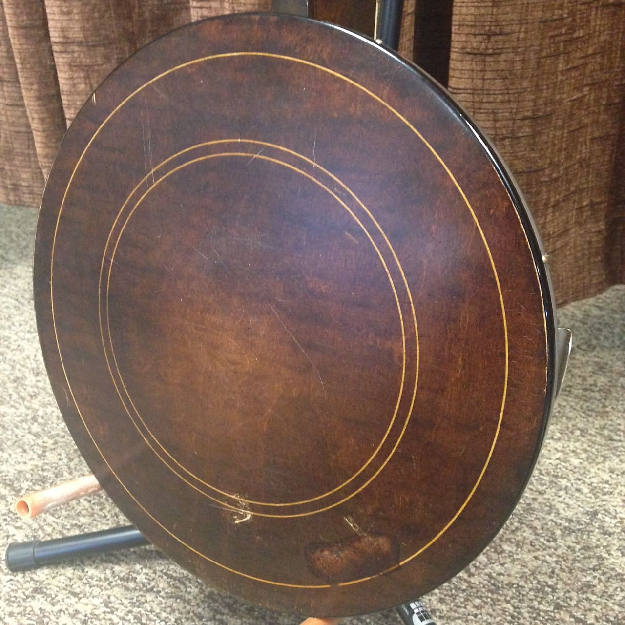 Bacon & Day Silver Bell No  1 Vintage 1925 Tenor Banjo B&D with Hardshell  Case