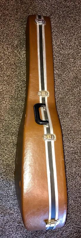 4edbddec1a Description; Shop Policies. Vintage brown Ovation deep bowl USA hardshell  guitar case ...