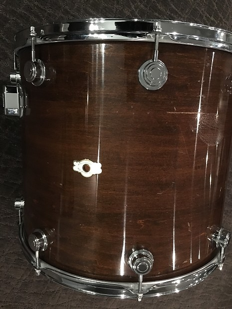 Camco 18 floor tom bass drum 1975 dark walnut reverb for 18 inch floor tom for sale