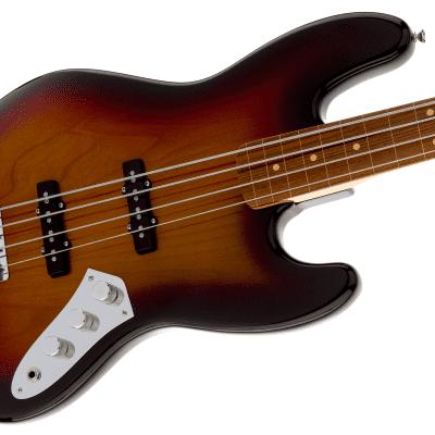 MINT! Fender Jaco Pastorius Jazz Bass 3-Color Sunburst Fretless - Authorized Dealer - SAVE BIG! for sale
