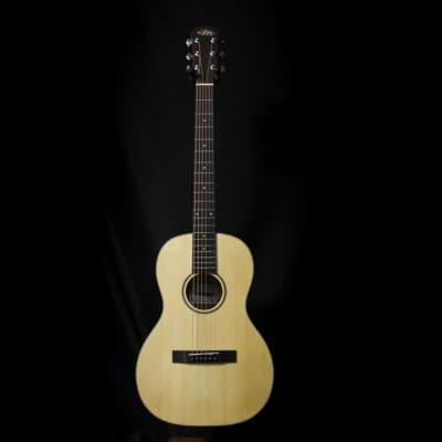 Aria 131 Parlor Acoustic Guitar - Natural for sale