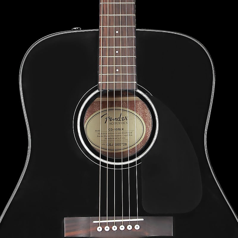 fender cd 60 v3 dreadnought acoustic black the music zoo reverb. Black Bedroom Furniture Sets. Home Design Ideas