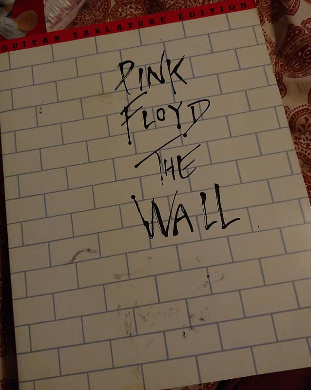 Pink Floyd The Wall Guitar Tab Book Reverb