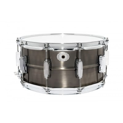 """Ludwig LC665 Limited Edition Pewter Copper Phonic 6.5x14"""" 10-Lug Snare Drum 2020"""