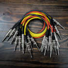 """Lincoln ROUTE 24 VOLTS (12 PACK) / 1/4"""" TS Unbalanced Interconnect Gotham GAC-1 Large Format Modular 5U Patch Cable image"""