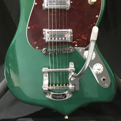 Fender Parallel Universe Maverick Dorado 2020 Mystic Pine Green for sale