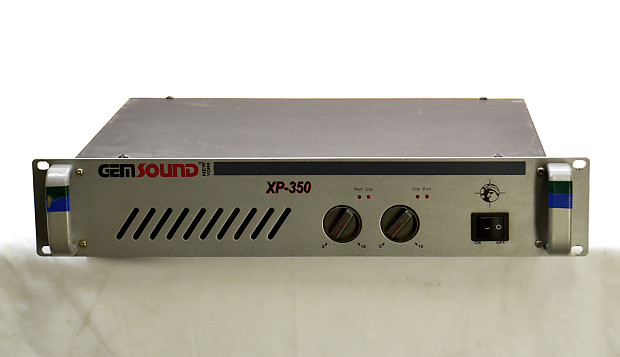 Gem Sound XP-350 Stereo Rackmount Power Amp | Guitar Hangar