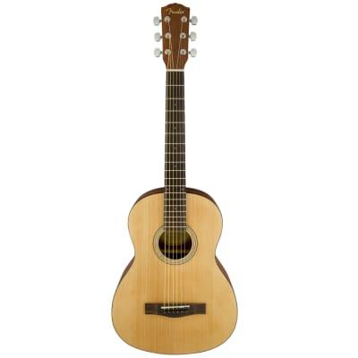 Fender FA-15 3/4 Size Steel Acoustic Guitar w/ Gig Bag - Natural