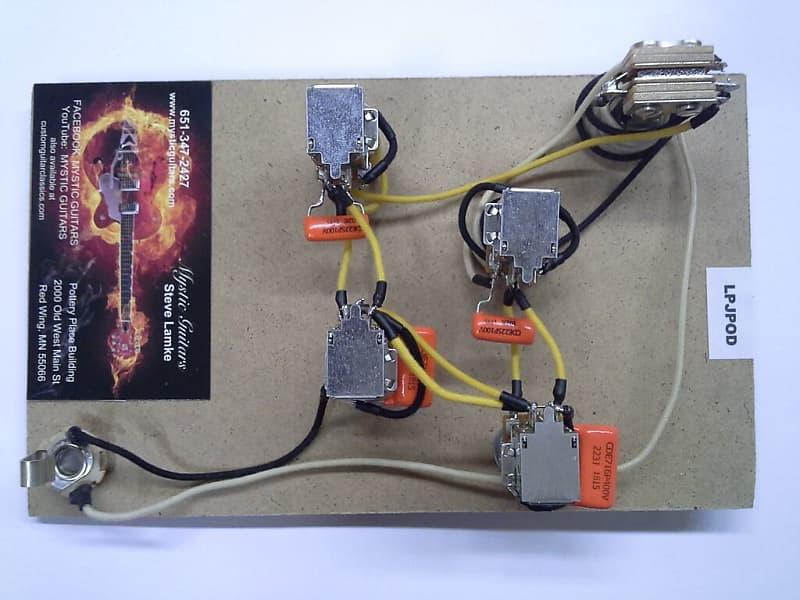 Lp  U0026quot Jimmy Page  U0026quot  Style Guitar Wiring Kit  Free Usa