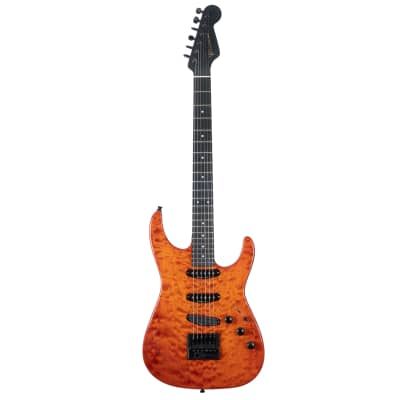 Erlewine Orange Blossom Special 2012 Trans Orange with Evertune Bridge Carbon Graphite Neck for sale