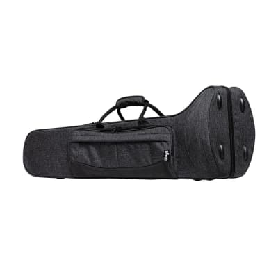 Stagg Soft Case for Trombone - Grey - SC-TB-GY
