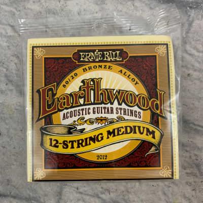 Ernie Ball Earthwood Medium 12-String 80/20 Bronze Acoustic Guitar Strings - 11-28 Gauge