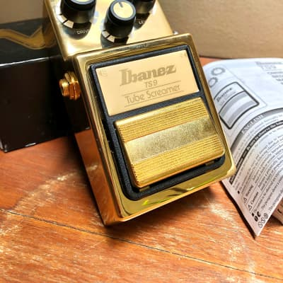 Brand New Ibanez Limited Edition TS9 Tube Screamer Gold S/N 1830618