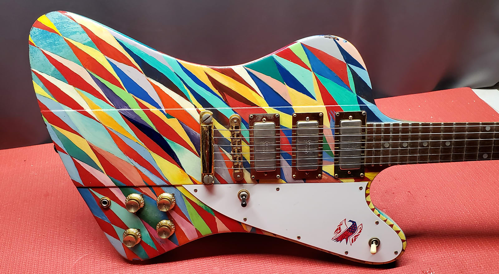 Gibson Firebird '76 Bicentennial 1976 w/ Custom Artwork