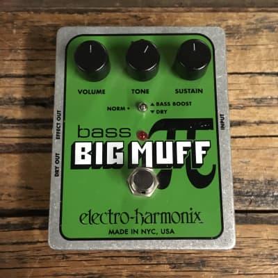 Electro-Harmonix Bass Big Muff Pi Fuzz Pedal