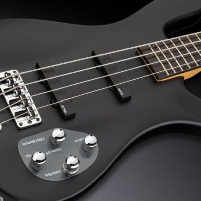 Warwick RockBass Artist Line Robert Trujillo / Metallica, 4-String - Solid Black Satin for sale