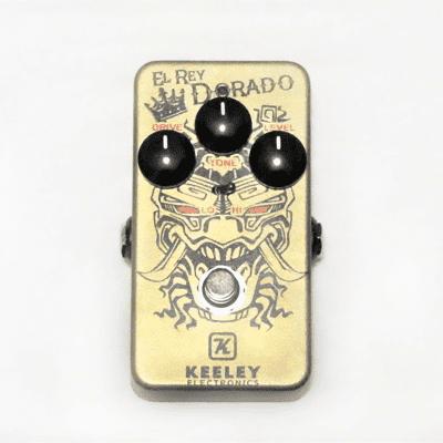 Used Keeley El Rey Dorado Classic Distortion & Overdrive Guitar Effect Pedal