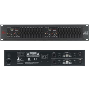 dbx 2215 Dual Channel 15-Band EQ/Limiter w/ Type III Noise Reduction