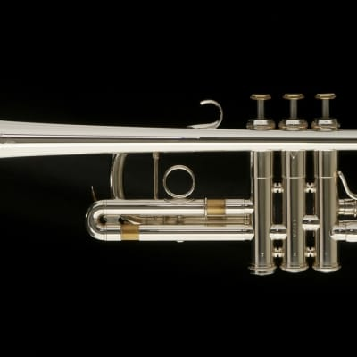 Pre-Owned Adams C1-L C Trumpet in Silver Plate with Custom Inlays!