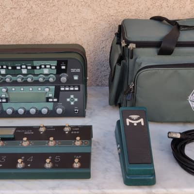 Kemper Amps Kemper Power-Head + Remote + Mission Engineering EP1-KP-GN for sale