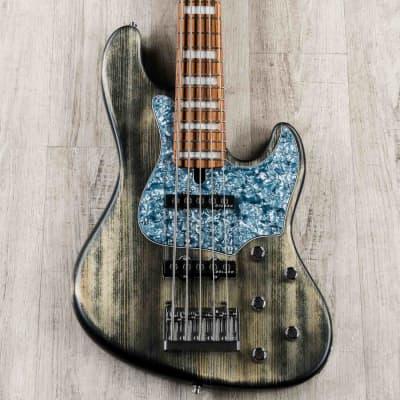Mayones Jabba Hadrien Feraud 5 Bass, Antique Black, Delano Pickups, Pau Ferro Fretboard - JAB2004630 for sale