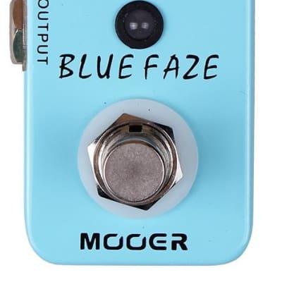 Mooer Blue Faze True Bypass Vintage Fuzz Effects Guitar Pedal for sale