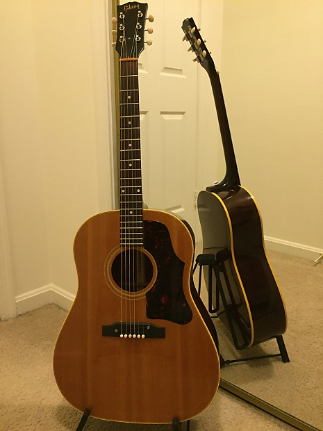 gibson j 50 1963 natural dusty scales reverb. Black Bedroom Furniture Sets. Home Design Ideas