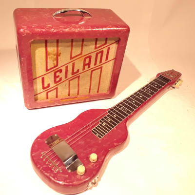 Bel Tone Lap Steel w/ Leilani Amp for sale