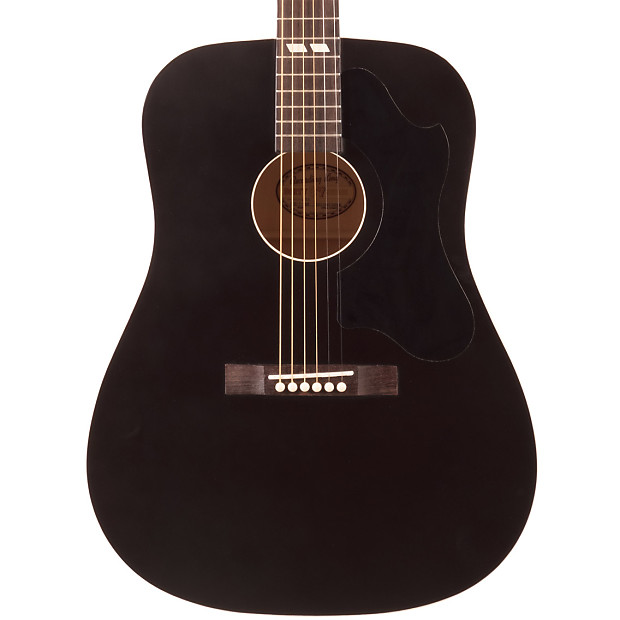 Recording King RDS 7 MBK Dirty 30s Series Dreadnought Acoustic Guitar Matte Black