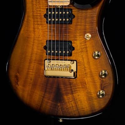 Music Man Premier Dealer BFR John Petrucci Figured Koa Top Vintage Tobacco Burst (686)