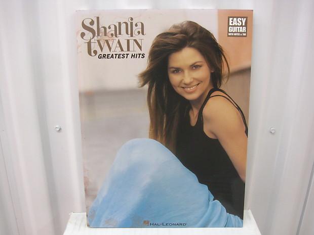 Shania Twain Greatest Hits Easy Guitar Sheet Music Song Book Songbook Tab  Tablature