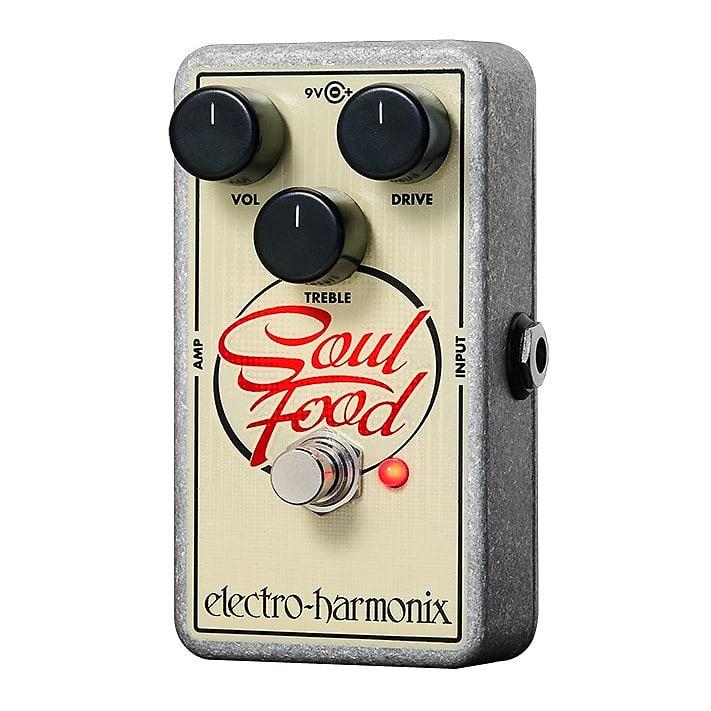 Electro-Harmonix EHX Soul Food Transparent Distortion / Fuzz / Overdrive Pedal