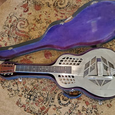1928 National Tricone Resonator Style 1 Square Neck w/ OHSC  - Early 3 Digit Serial Number