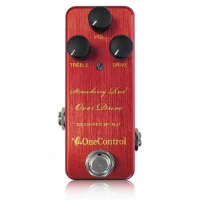 One Control Strawberry Red Overdrive for sale