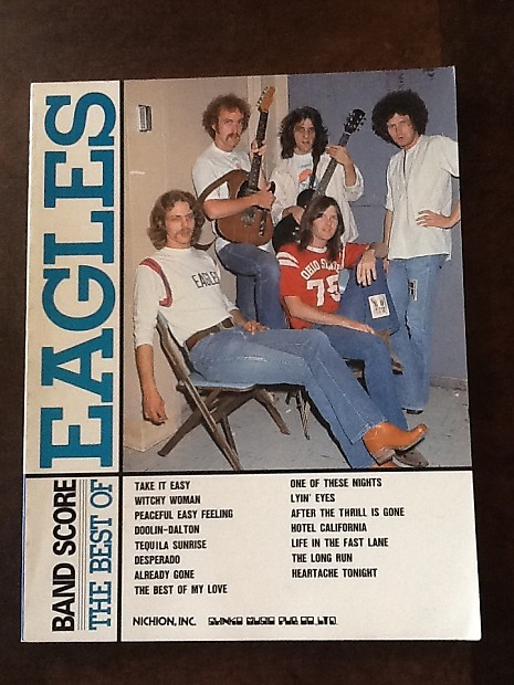 Eagles The Best Of Japan Band Score Book Reverb