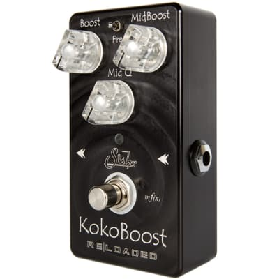 SUHR Koko Reloaded Clean Mid Range Boost Pedal Open Box Mint