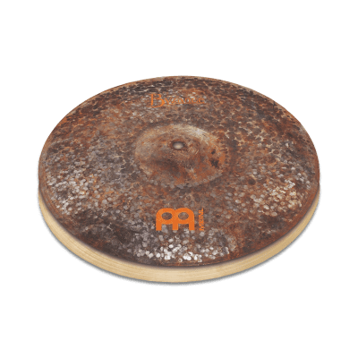 "Meinl Byzance Extra Dry 15"" Medium Thin Hihat, pair B15EDMTH Cymbal"