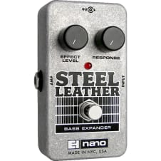 Electro-Harmonix Nano Steel Leather Attack Expander Bass Guitar Pedal