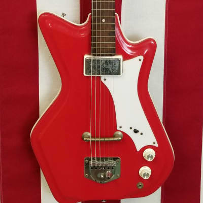 1966 Supro JB Hutto Resoglass Electric Guitar - With Original Case for sale