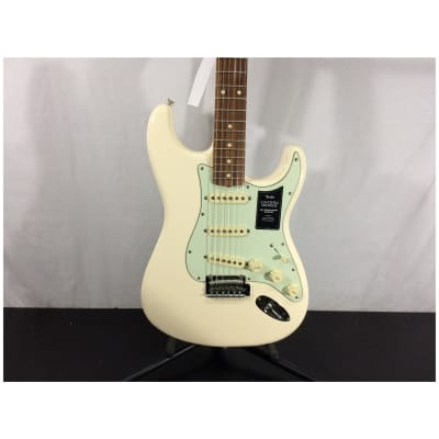 Fender Vintera '60s Stratocaster Modified Electric Guitar, Olympic White
