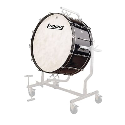 """Ludwig DSDBLUD28XXM 14x28"""" Mounted Concert Bass Drum for LE788 Stand"""