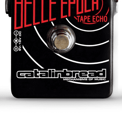 Catalinbread Belle Epoch Black - Neworld Music Limited Edition - Tape Echo Guitar Pedal