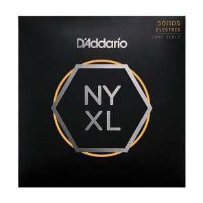 D'Addario NYXL50105 Nickel Wound Bass Guitar Strings Medium 50-105 Long Scale