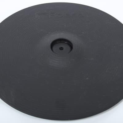 "Electronic Crash Cymbal Roland 12"" CY-12C Black Electronic Dual Zone Trigger"