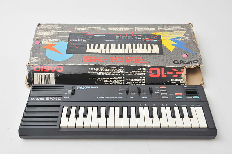 Casio SK-10 sampler keyboard 80's Lo Fi | Just Gear Gas | Reverb