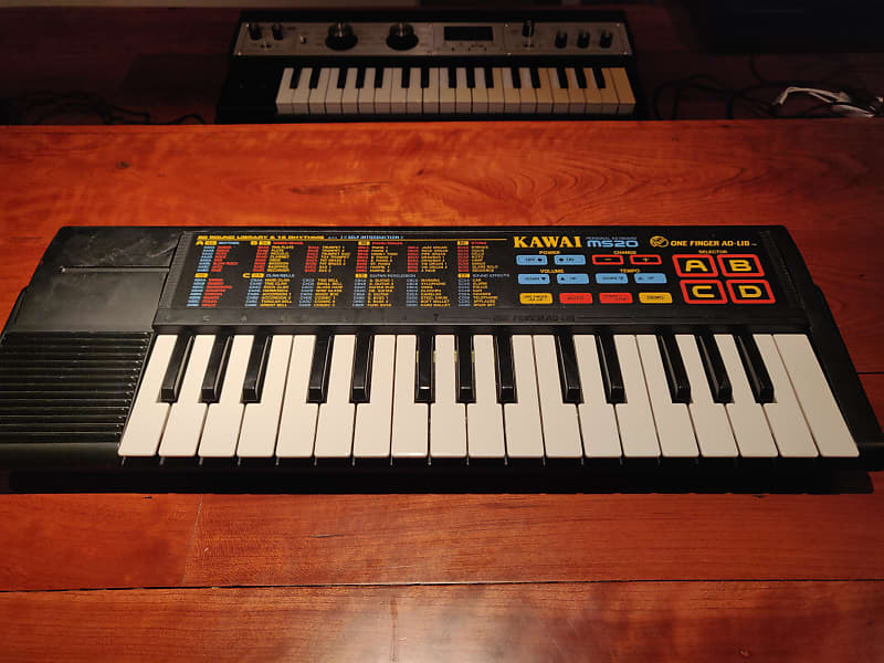 kawai ms20 toy wavetable synth from early 39 90s with reverb. Black Bedroom Furniture Sets. Home Design Ideas